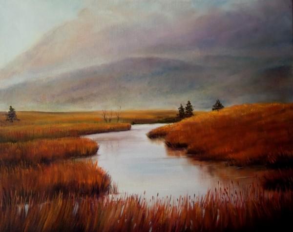 Iona Island, by Deborah O'Keefe