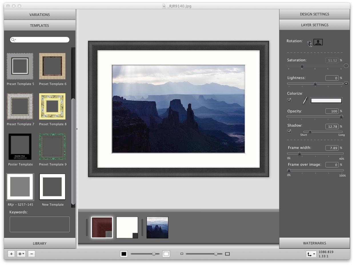 Funky Picture Framing Software Motif - Framed Art Ideas ...