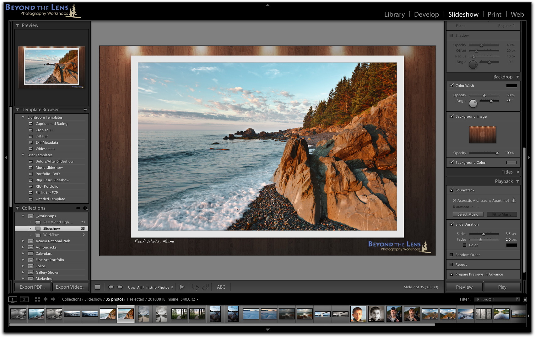 Creating a Before/After Slideshow In Lightroom   Robert